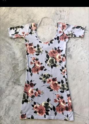 Нежное платье в цветок