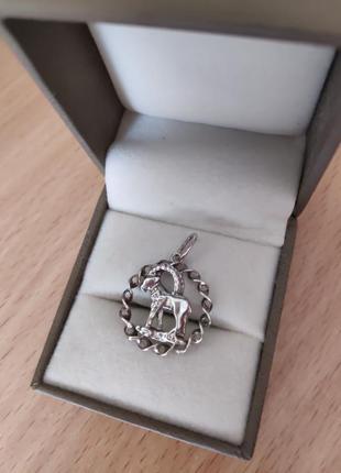 Козеріг кулон срібло козерог серебро обмін обмен