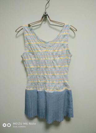Тенисное платье.