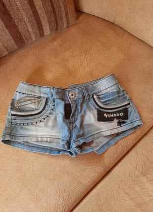 Коротки джинсові шорти
