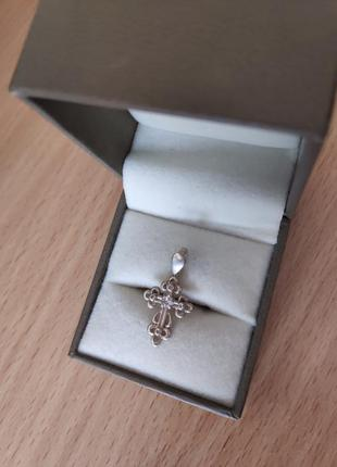 Кулон підвіска хрест срібло крест серебро обмін обмен