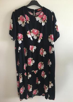 Летнее платье для беременных и кормящих мам