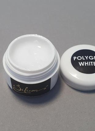 Белый полигель, акрилатик, полигель