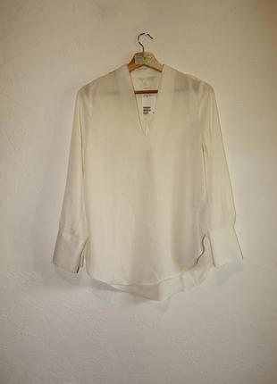 Блуза h&m размер 36 оверсайз