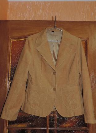 Пиджак вельветовый
