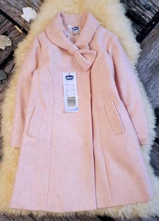 Стильное, красивое пальто на подкладке/ chicco