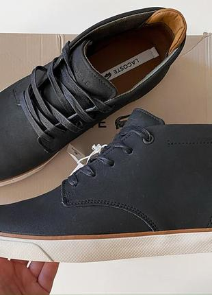 Шкіряні черевики lacoste