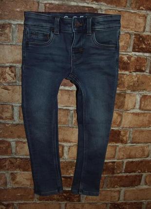 Утеплеенные джинсы мальчику на махре 5 лет palomino