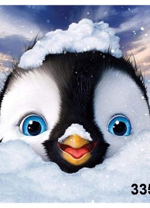 Наборы 5d картина со стразами алмазная вышивка пингвин