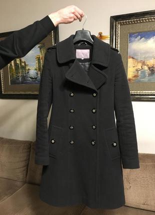 Пальто-мундир утеплённое