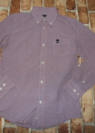 Стильная рубашка мальчику 10 лет riverwoods