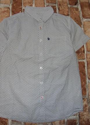 Стильная рубашка мальчику 10 - 11 лет rebel