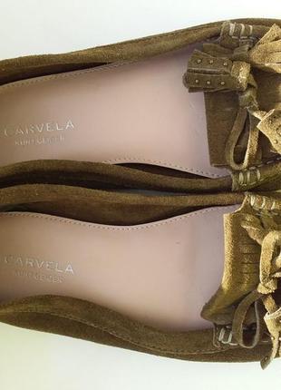 Лофери балетки carvela кожание 36 розм