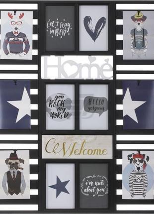 Фоторамка , коллаж , колаж , рамка для фото 12 фото с надписью home