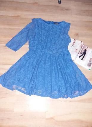 Платье гипюровое topshop