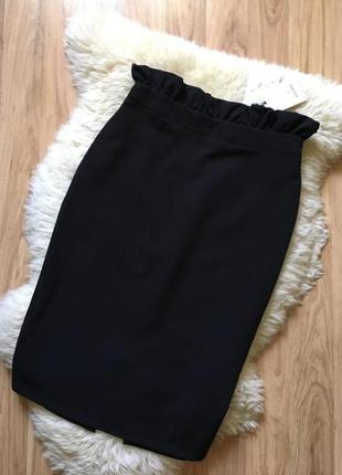 Шикарная длинная юбка карандаш miss miss италия