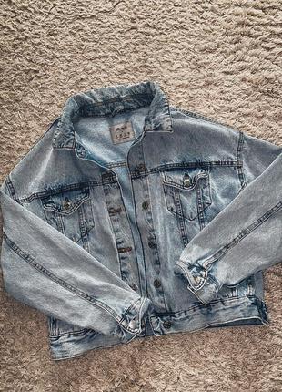 Безумно крутая джинсовка 😍😍😍