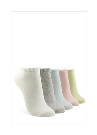 Носочки 🦶🏻🧦 нежные цвета, набор из 5шт