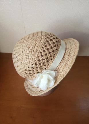 Летняя шляпка 54-56