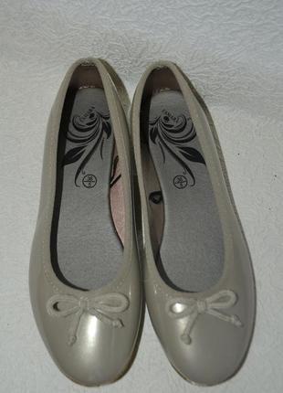 Новые балетки esmara 24.5 см 38 размер