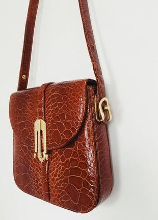 Эксклюзивная сумка из кожи морской черепахи