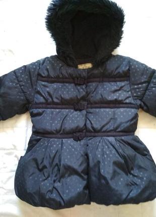 Тепла демісезонна курточка next 4-5 років