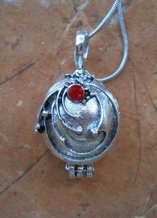 Кулон медальон на магните, елена гилберт, дневники вампира, the vampire diaries