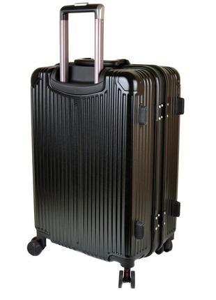 Дорожная чемодан 1 маленький abs-пластик 05 black замок