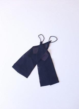 Перчатки сеточка чёрная под нарядное платье