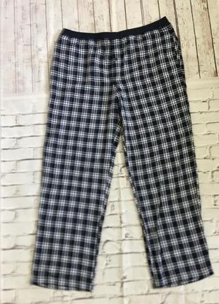 Мужские фланелевые штаны, домашние штаны, пижама livergy