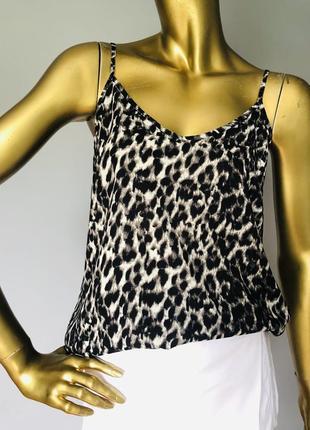 Блуза - маєчка в леопардовий принт