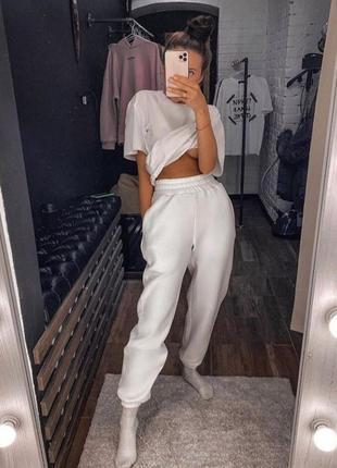 Спортивные штаны (белые)