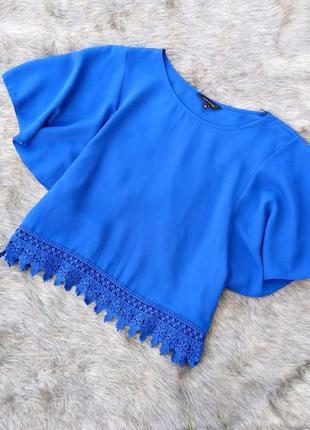 Блуза кофточка с расклешенными рукавами new look