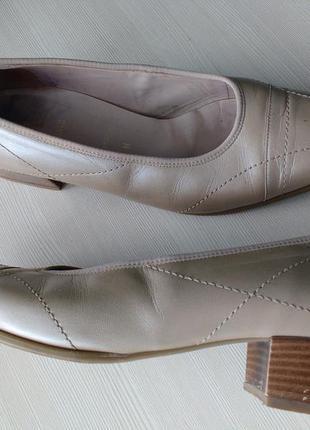 Туфли кожаные , 27см