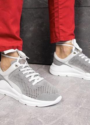 Новые женские летние серые кроссовки
