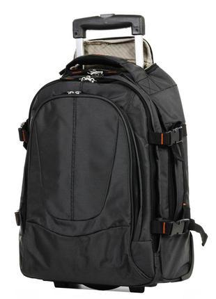 Рюкзак на колесах airtex 560-1 atlas 100% ручная кладь