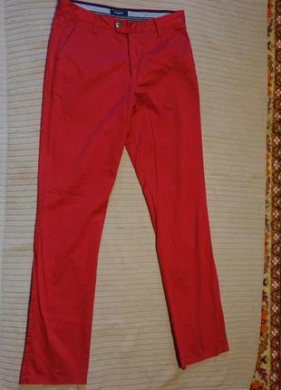 Красивые темно-красные неформальные брюки mcgregor regular fit 48 р.