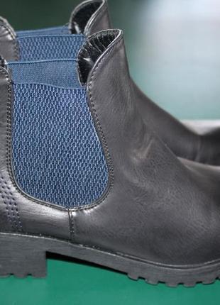 Демисезонные ботинки inuovo.36 размер.23см.кожа.италия.