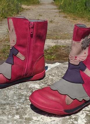 Дитячі чобітки clarks