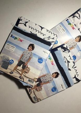 Набор футболок  lupilu для мальчика