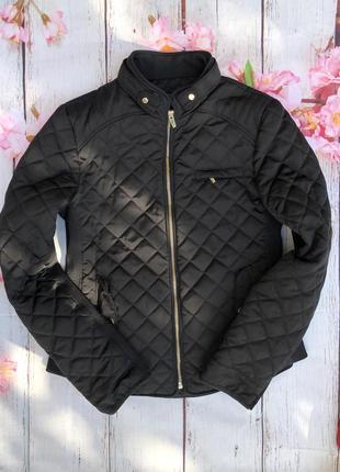Стеганая куртка пиджак базовая от zara