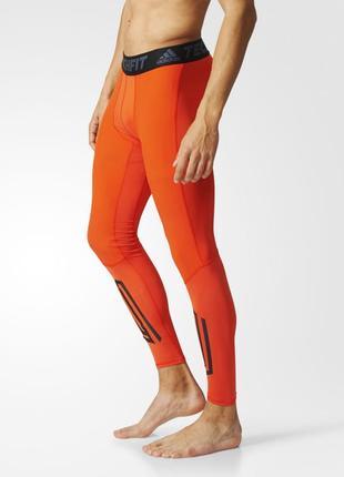 Спортивные леггинсы adidas tech fit pro/ компрессионные штаны /размер m-l