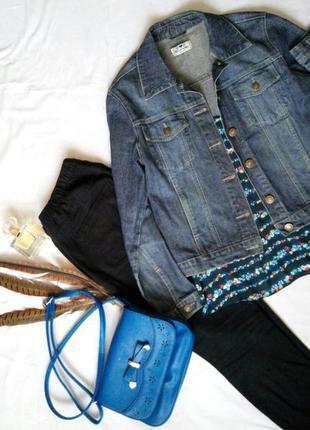 Куртка джинс (sophia)
