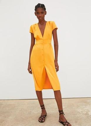 Платье сатиновое