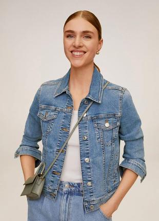 Новая джинсовая курточка манго mango, размер s