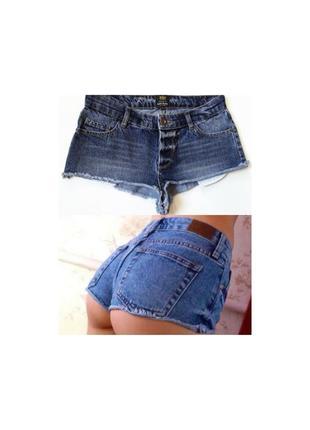 Супер сексуальные джинсовые шорты