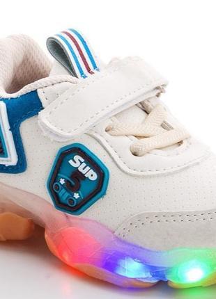 Детские кроссовки с лед подсветкой