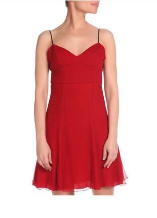 Шёлковое платье c'n'c costume national коктейльное платье