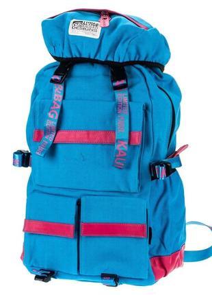 Качественный брезентовый рюкзак, небольшой туристический рюкзак