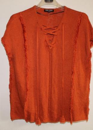 Трикотажная кофта блуза vero moda